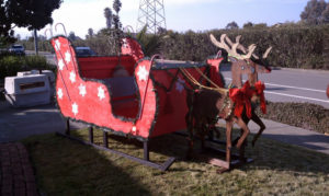 Santa's Sled Completed